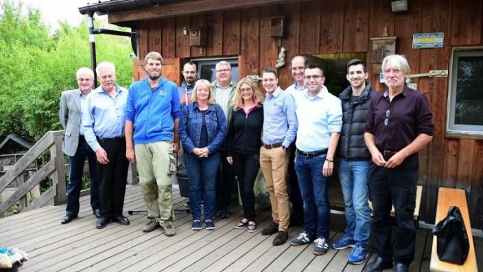 CDU-Stadtratsfraktion besucht Vogelberingungsstation